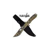 Survivor Camo Hunting Knife - Jungle Hunter