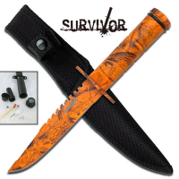 Snake Eye - Mini Survival Kniv - Lava Camo
