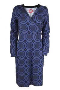 Bilde av TORA kjole bl�lilla fargar