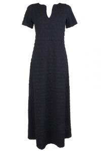 Bilde av BA fotsid kjole svart
