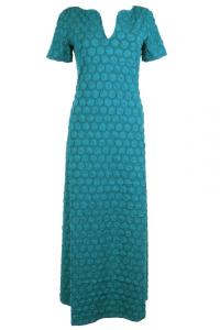 Bilde av BA fotsid kjole petrol