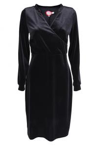 Bilde av ANNELISE kjole svart