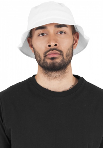 Bilde av Hatt - Urban Classic Flexfit Cotton Twill Bucket Hat White
