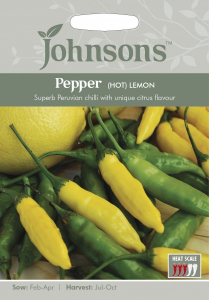 Bilde av Chilipepper 'Lemon'