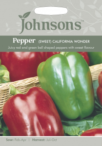 Bilde av Paprika 'California Wonder'