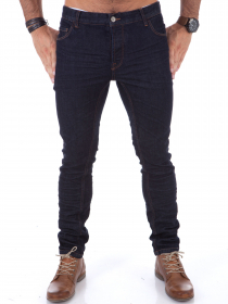 Raw Denim Jeans - Dark