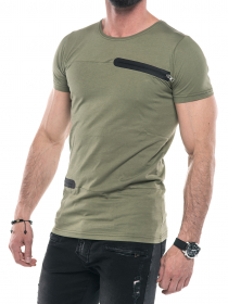 Larke Zipper Tee -