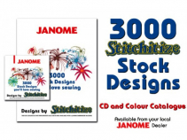 (20D) Stitchitize 3000 Design CD Collection