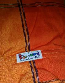 BabyIdea ringslynge gul/orange
