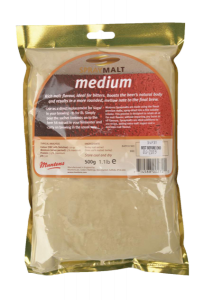 Bilde av Spraymalt Medium 500g (18 EBC)