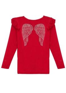 Bilde av Angels face, r�d genser med