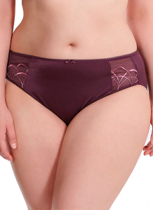 Bilde av Elomi Cate Brief, Str M-XXL, Black Cherry