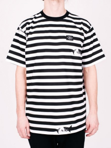 Bilde av T-skjorte - Turbokolor - Maneaters Tee Sailor - White/Black