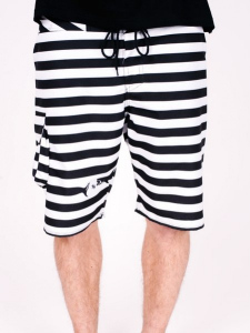 Bilde av Shorts - Turbokolor - Maneaters Raider - White/Black SS16
