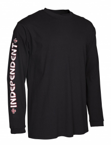 Bilde av Longsleeve - Independent Bar Cross / Black