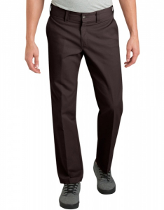 Bilde av Bukse - Dickies '67 Dark Brown Slim Fit Straight Leg Industrial