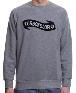 Bilde av Crew Neck - Turbokolor Crewneck - Grey
