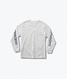 Bilde av Longsleeve - Diamond Futura Sign White
