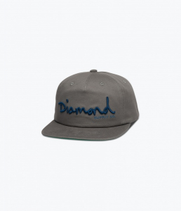 Bilde av Caps - Diamond OG Script / Grey