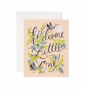 Bilde av Welcome Little One kort Rifle Paper Co
