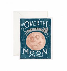 Bilde av Over the Moon kort Rifle Paper Co