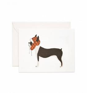 Bilde av Boston Terrier kort Rifle Paper Co
