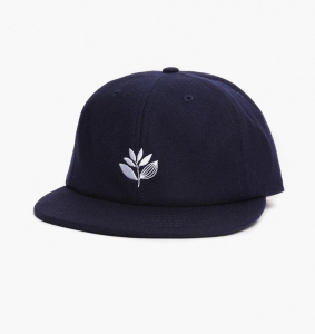 Bilde av Caps - Magenta Plant 6 Panel Hat / Blue