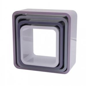 Bilde av Sebra, kvadrat bokhyller