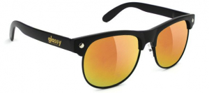 Bilde av Solbrille - Glassy Sunhaters Shredder / Matte Black / Red Mirror