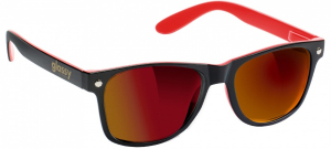 Bilde av Solbrille - Glassy Sunhaters Leonard / Red Black / Red Mirror