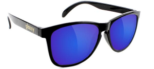 Bilde av Solbrille - Glassy Sunhaters Deric / Black / Blue Mirror