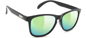 Bilde av Solbrille - Glassy Sunhaters Deric / Black / Gold Mirror