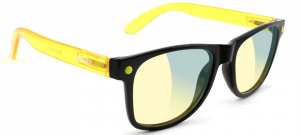 Bilde av Solbrille - Glassy Sunhaters Leonard / Black / Transparent Yello