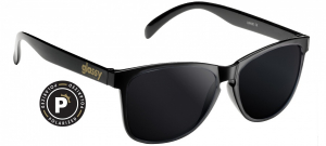 Bilde av Solbrille - Glassy Sunhaters Deric / Black / Polarized