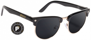 Bilde av Solbrille - Glassy Sunhaters Morrison / Polarized / Black / Gold