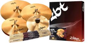 Bilde av ZILDJIAN ZBT / A cymbalpakke + 5A trommestikker