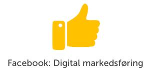Facebook: Digital markedsføring
