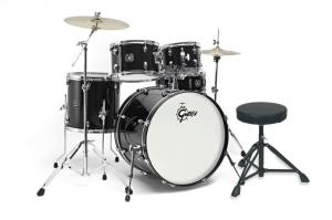 Bilde av Gretsch Energy BLK20 trommesett + cymbaler