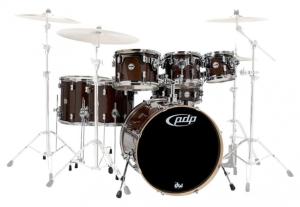 Bilde av PDP by DW Concept Maple 7-trommers shell pack