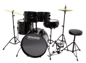 Bilde av DC DYNAMIC Fusion trommesett + cymbaler