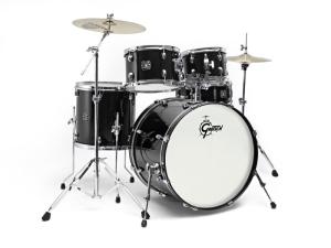 Bilde av Gretsch Energy BLK trommesett + cymbaler