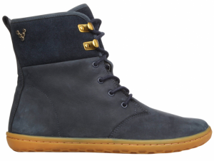 Bilde av GOBI HI TOP Leather Navy/Hide