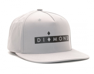 Bilde av Caps - Diamond Marquise Clipback Grey