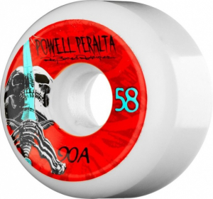 Bilde av Skateboard Hjul - Powell Peralta Ray Rod Skull & Sword 58 MM