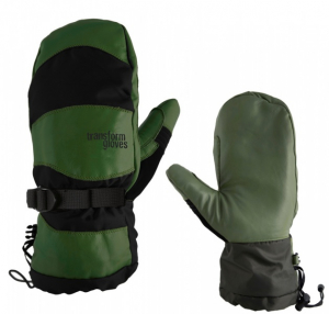 Bilde av Hansker - Transformgloves The Throwback Army green