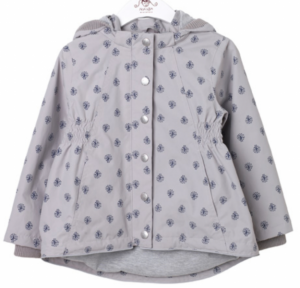 Bilde av Jakke mini printed gull gray