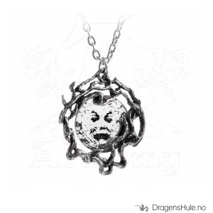 Bilde av Anheng: M�era Luna Moon Face -48mm Tinn & Speil