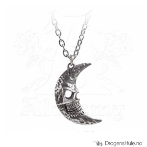 Bilde av Anheng: M�era Luna Tragicorn Moon -mm Tinn & Speil