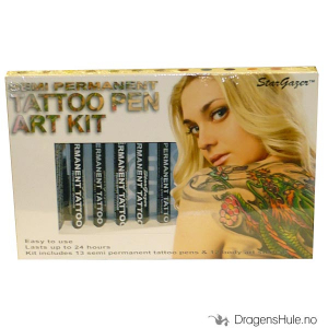 Bilde av Sminke: Semi-Permanent Tattoo Pen Art Kit -StarGazer