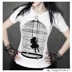 Bilde av T-skjorte: Bird Cage D
